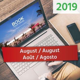 August / August / Août / Agosto 2019
