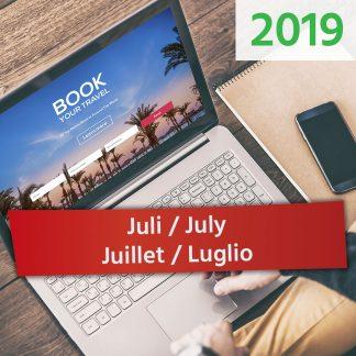 Juli / July / Juillet / Luglio 2019
